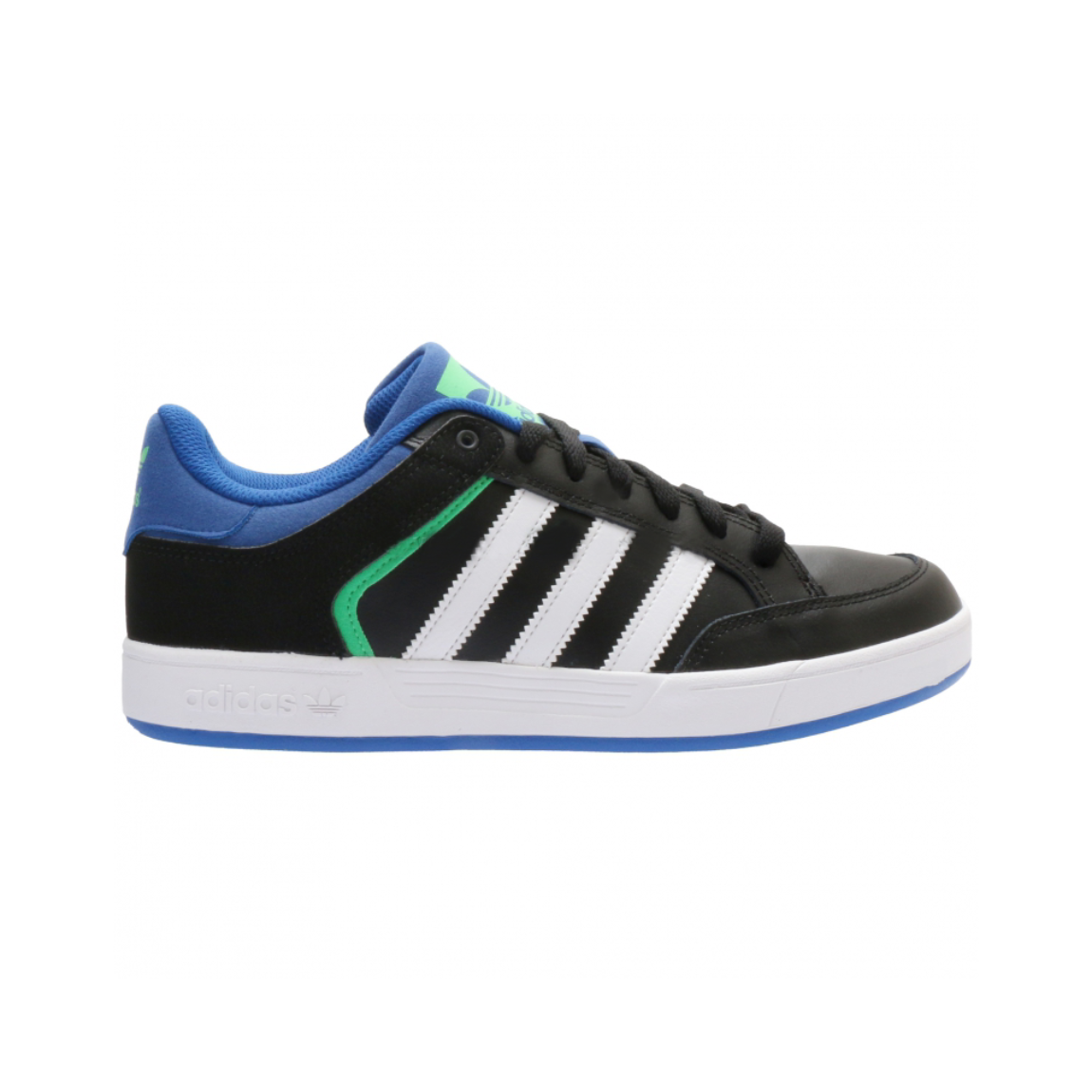 ADIDAS VARIAL LOW Core Black Collegiate Royal Flash Lime.